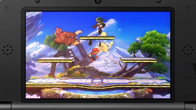 Super Smash Bros Gameplay 3DS