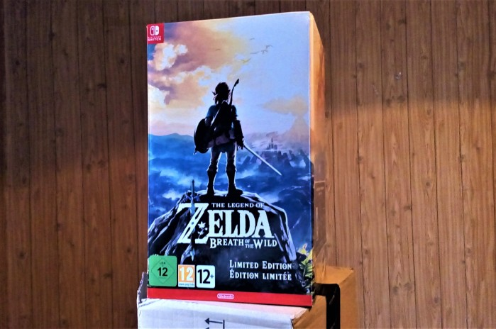 Collector Zelda Breath of The Wild