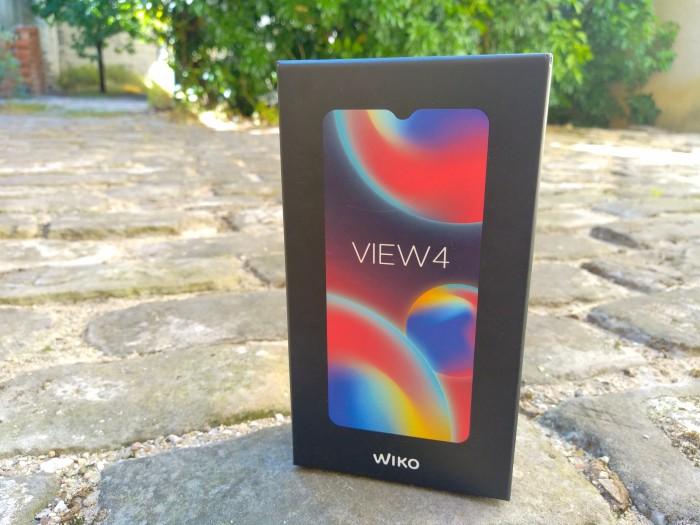 Wiko View 4 Boite Face